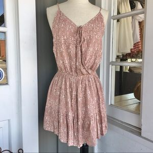 NWT • By Together sz L faux wrap romper • lined